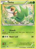 Snivy from Legendary Treasures