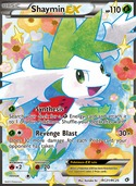 Shaymin-EX from Legendary Treasures
