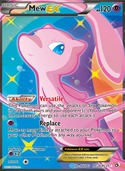 Mew-EX from Legendary Treasures