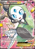 Meloetta-EX from Legendary Treasures