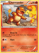 Charmander from Legendary Treasures