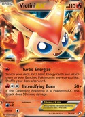 Victini-EX from Legendary Treasures