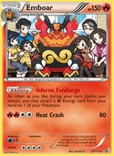 Emboar from Legendary Treasures