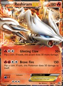 Reshiram-EX from Legendary Treasures