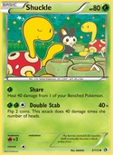 Shuckle from Legendary Treasures