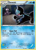 Dewott from Legendary Treasures