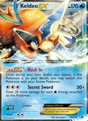 Keldeo-EX from Legendary Treasures