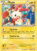 Plusle from Legendary Treasures