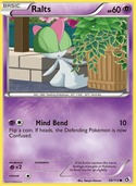 Ralts from Legendary Treasures