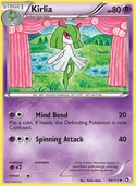 Kirlia from Legendary Treasures
