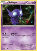Sableye from Legendary Treasures
