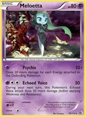 Meloetta from Legendary Treasures