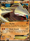 Excadrill-EX from Legendary Treasures
