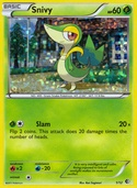 Snivy from McDonald's 2011