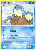 Spheal from Mysterious Treasures