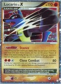 Lucario LV.X from Mysterious Treasures