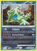 Tyranitar from Mysterious Treasures