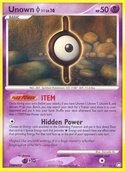 Unown I from Mysterious Treasures