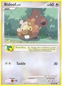 Bidoof from Mysterious Treasures
