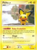 Pichu from Mysterious Treasures