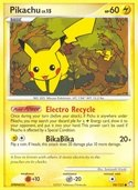 Pikachu from Mysterious Treasures