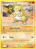 Sandshrew from Mysterious Treasures