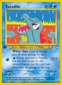 Totodile from Neo Destiny