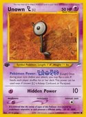 Unown L from Neo Destiny