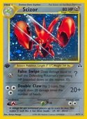 Scizor from Neo Discovery
