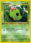 Caterpie from Neo Discovery
