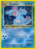 Feraligatr from Neo Genesis