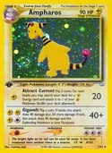 Ampharos from Neo Revelation