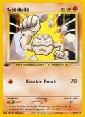 Geodude from Neo Revelation