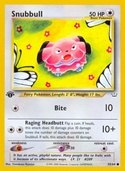 Snubbull from Neo Revelation