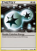 Double Colorless Energy from Next Destinies