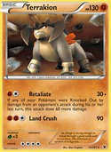 Terrakion from Noble Victories