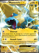Manectric-EX from Phantom Forces