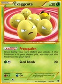 Exeggcute from Plasma Blast