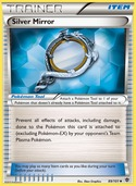 Silver Mirror from Plasma Blast