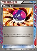 Master Ball from Plasma Blast
