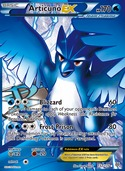 Articuno-EX from Plasma Storm