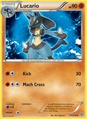 Lucario from Plasma Storm