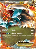 White Kyurem-EX from Plasma Storm
