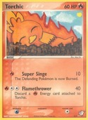 Torchic from Pokécard Creator