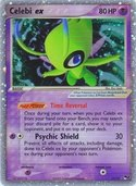 Celebi ex from POP Series 2