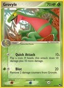 Grovyle from POP Series 4