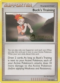 Buck's Training from Prerelease