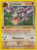 Aerodactyl from Prerelease