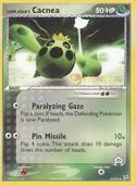 Team Aqua's Cacnea from Prerelease
