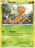 Weedle from Primal Clash